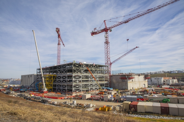 The Uranium Processing Facility continues to progress as the project works towards it's 2025 completion date.