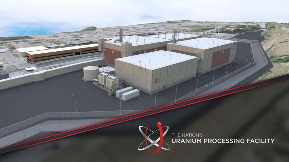 Uranium Processing Facility progress