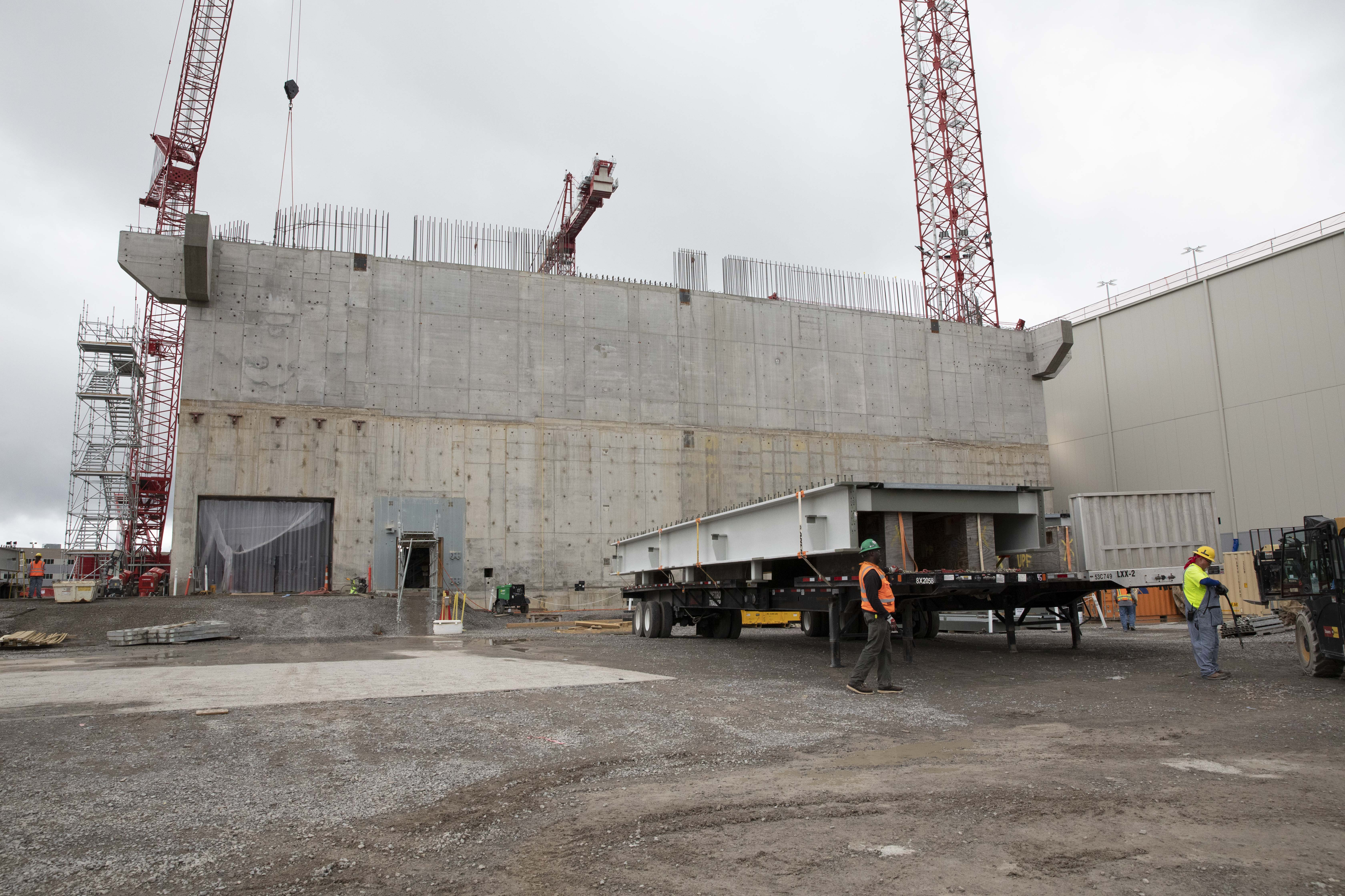 The UPF Project completed 12 Main Process Building (MPB) Concrete Wall Placements in just two months
