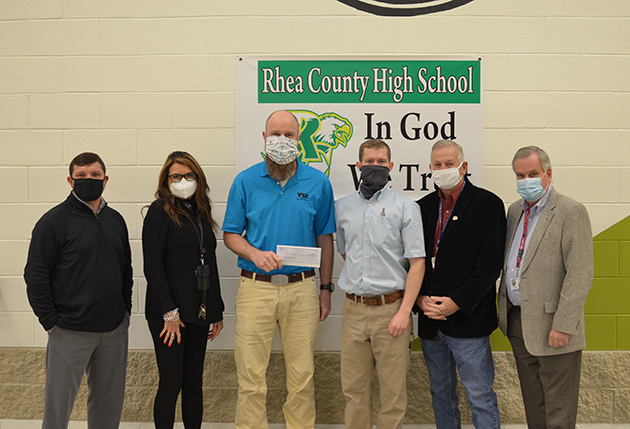 CNS recently provided a $2,500 #STEM donation.