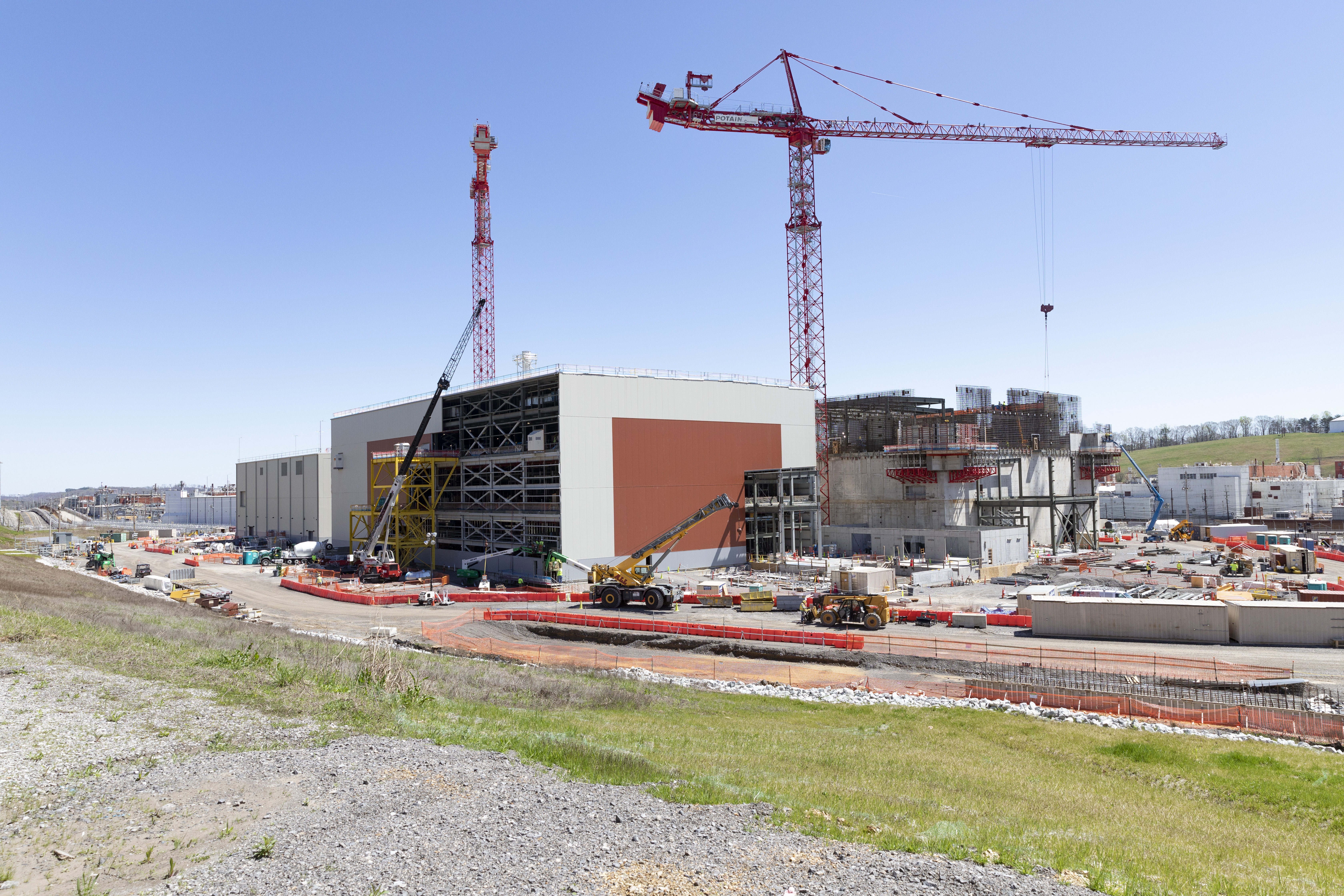 """The Uranium Processing Facility works toward UPF """"in the dry"""" milestone by end of the summer"""