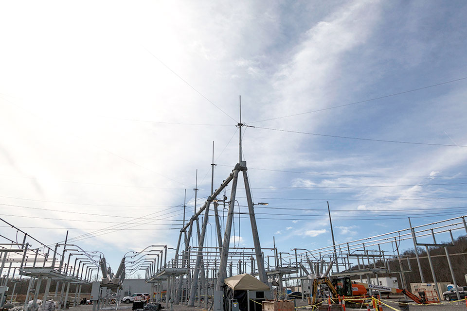 TVA will complete testing and turnover of the substation this summer and it will be fully operational in 2020. The new substation will service both the Y-12 National Security Complex and the Uranium Processing Facility.