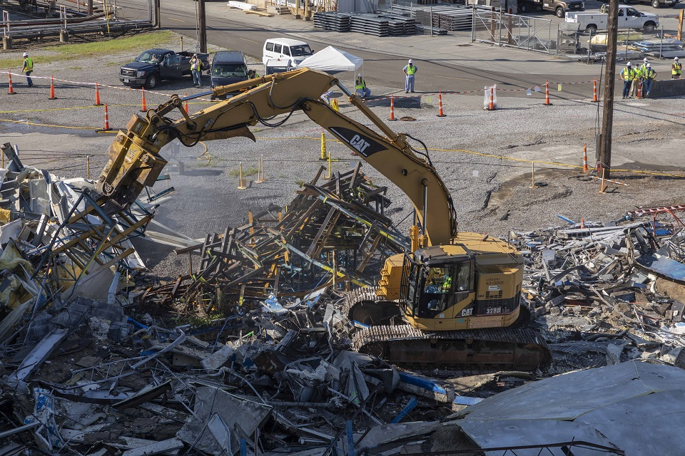 Demolition of Building 9720-22 at Y-12