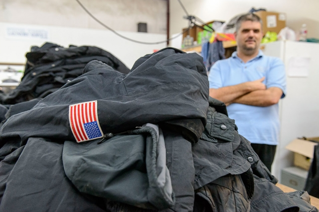 Employees at the Michael Dunn Center cleaned the coats.