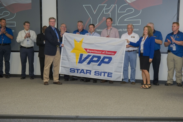 Y-12 receives VPP recertification