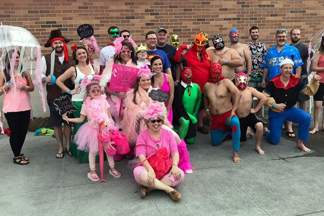 UPF employees raised more than $22,000 for Special Olympics Polar Plunge competition