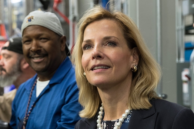 NNSA Administrator and Under Secretary for Nuclear Security Lisa Gordon-Hagerty toured several production buildings during her visit to the site.