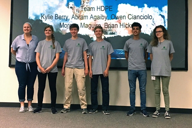Team HDPE was selected as the winning team at the ASM Materials Camp. They will present their findings at a local ASM meeting this fall.
