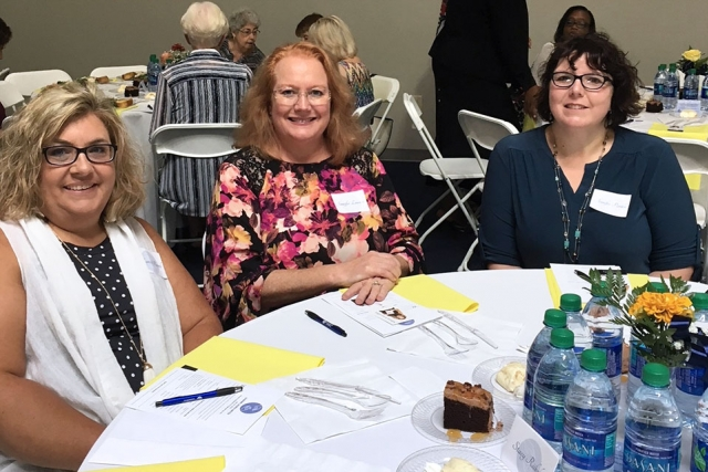 CNS employees enjoy the Leading Ladies Luncheon for United Way of Anderson County.