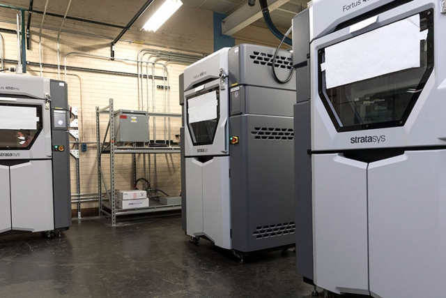 Production personnel now have additive manufacturing machines in their areas to help produce fixtures for Y‑12 Operations.