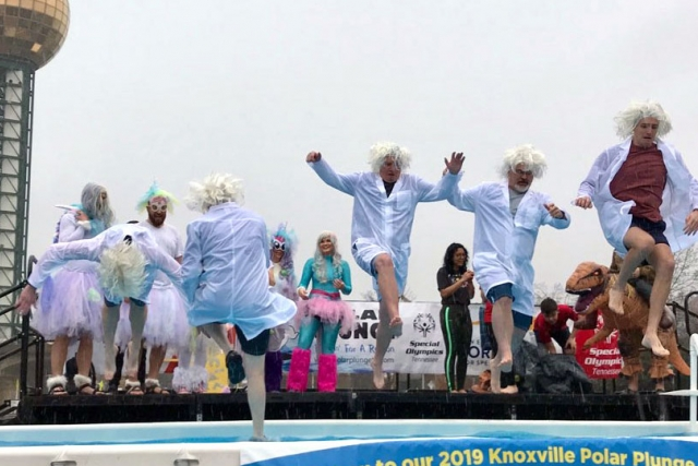 This year, the Uranium Processing Facility Project broke its own record for most funds raised in Tennessee for the Polar Plunge to benefit Special Olympics Tennessee.