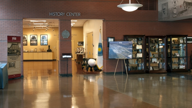 The Y-12 History Center, located within the New Hope Center at Y-12
