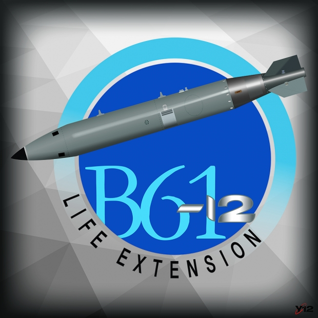 B61-12 Life extension poster