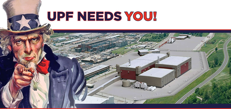 UPF Needs You! Banner