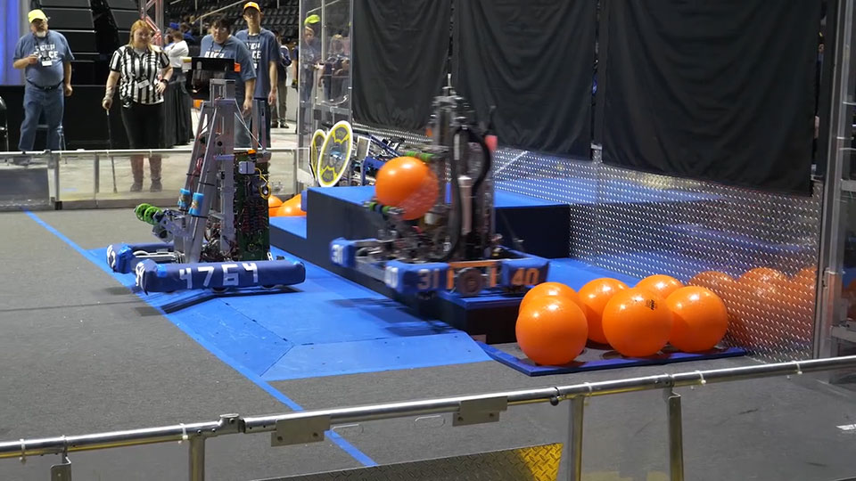 Smoky Mountain Regional robotics competition
