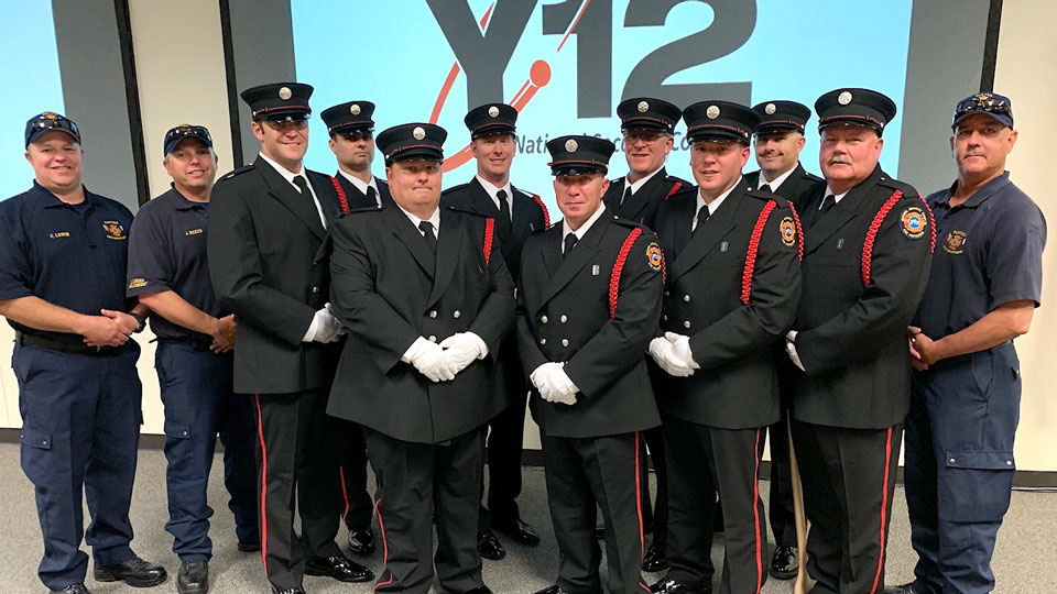 Y-12 Fire Department Honor Guard
