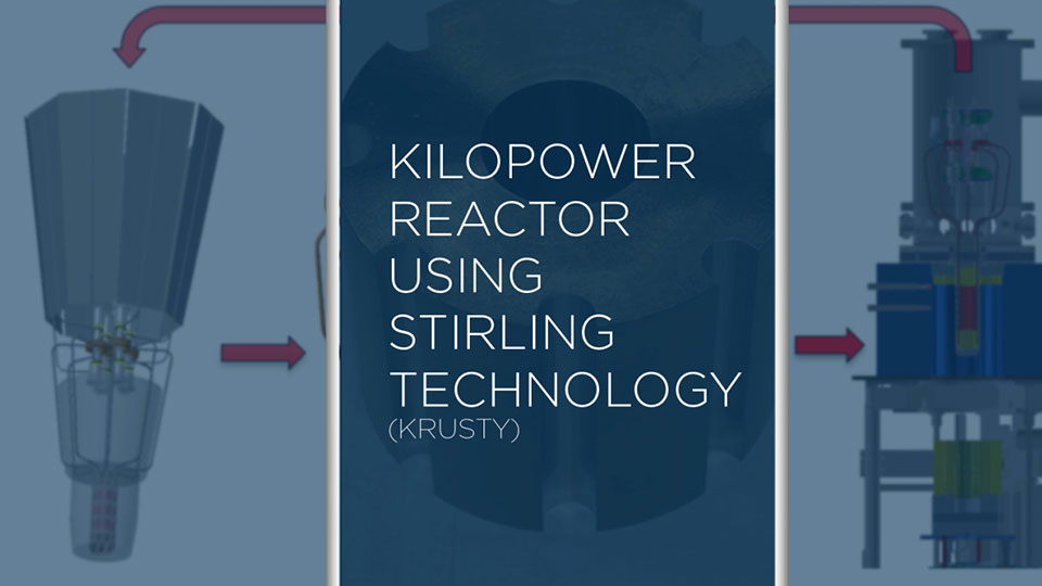 KRUSTY—Kilopower Reactor Using Stirling Technology