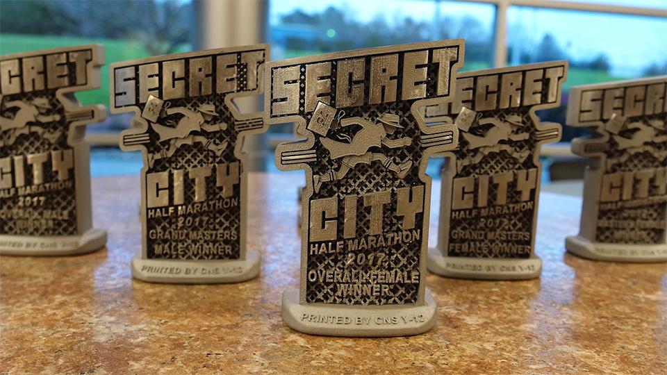 Secret City Race Awards
