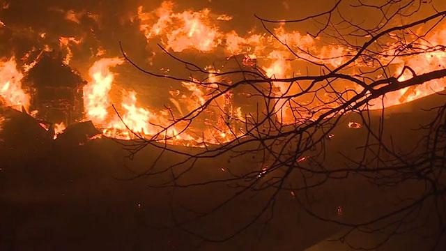 Y-12 firefighters support Gatlinburg wildfire response