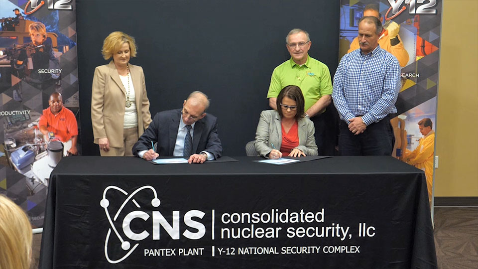 CNS Signs Mentor-Protégé Agreement
